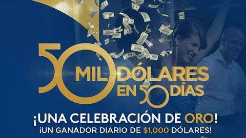 50 Mil Dólares en 50 Días