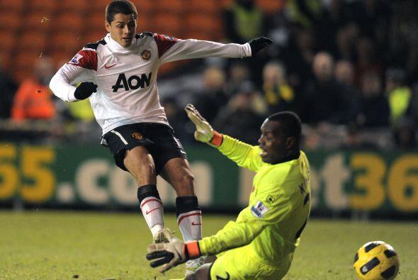 6.- Otra aparición como suplente de Javier en contra del Blackpool .