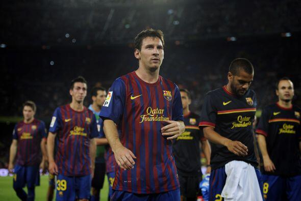 El árbitro concluyó el encuentro, que sólo tuvo un equipo ampliamente do...