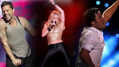 Ricky Martin, Shakira y Chayanne son algunos de los nominados en la cate...