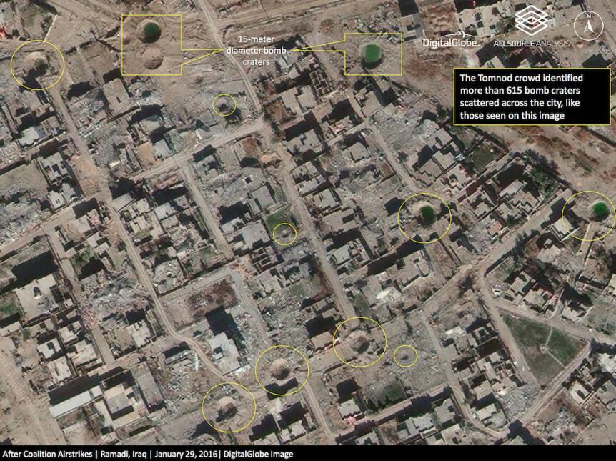 Ramadi reducida a escombros: el costo de liberar una ciudad del yugo del...