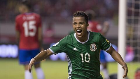 Gio dos Santos provocó el gol con el que México abri&oacut...