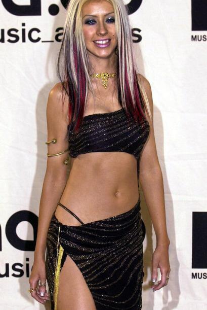 Cuando recién empezaba si carrera a finales de los noventa, Christina lu...