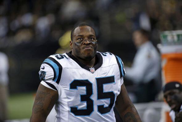 Mike Tolbert, fullback de los Carolina Panthers (AP-NFL).