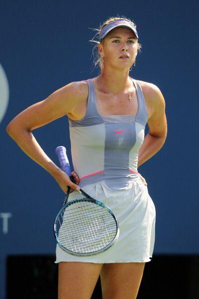 Sharapova quedó incrédula al final del juego, pues no imaginó que quedar...