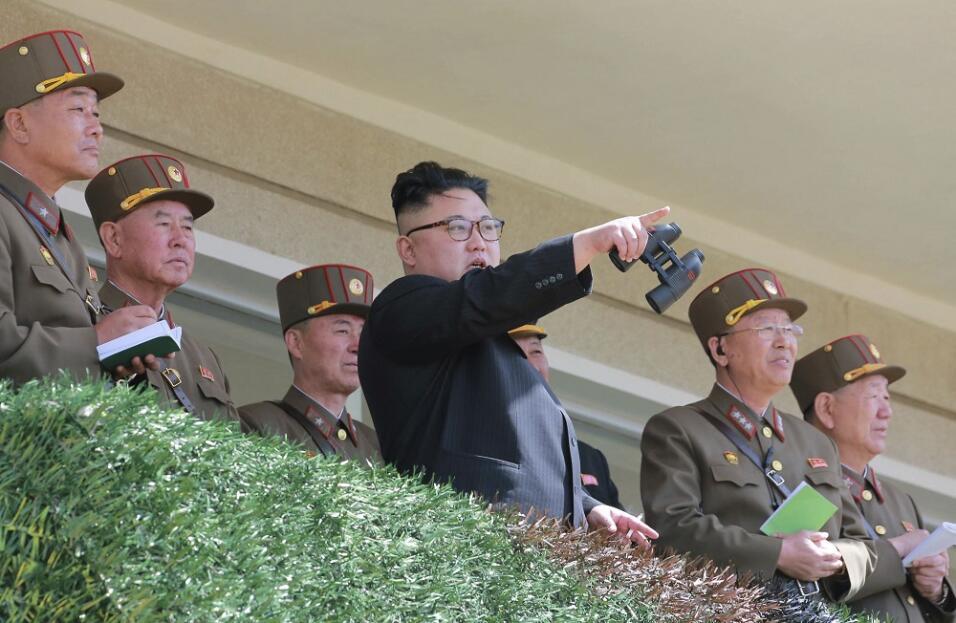 El líder norcoreano Kim Jong-un en una imagen sin fecha distribuida por...