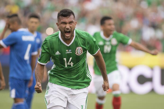 Hedgardo Marín (México): un gol
