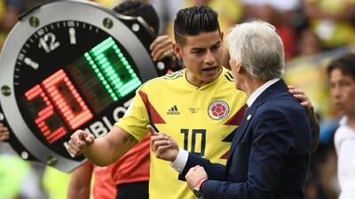 Aún con dudas, Colombia esperará a James Rodríguez hasta el último minuto para enfrentar a Polonia