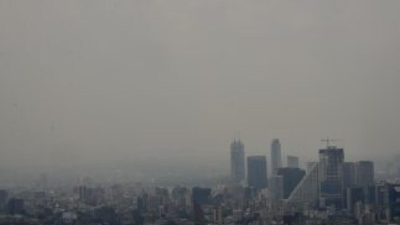 Smog sobre la ciudad de México