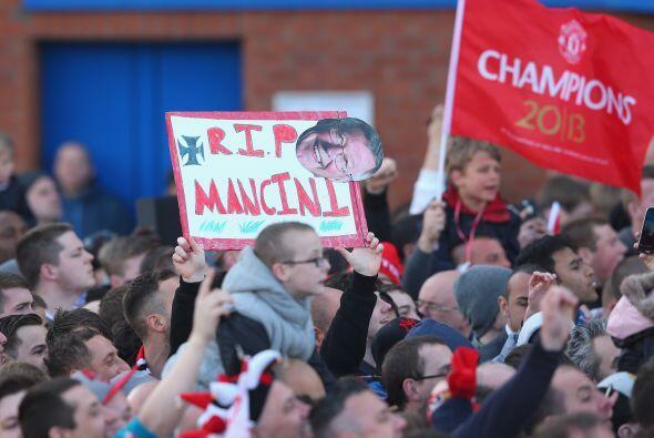 Manchester vivió por segundo año en fila los festejos en s...
