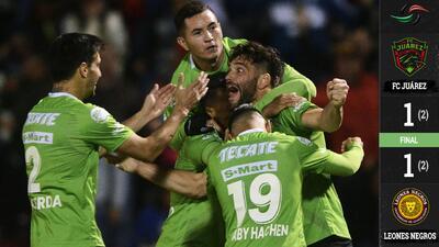 Gracias a la posición en la tabla y con un final lleno de dramatismo, Juárez eliminó a la U de G