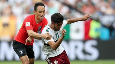México, exhibición de capacidad y consistencia ante Corea del Sur