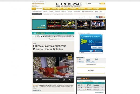El Universal de Venezuela.