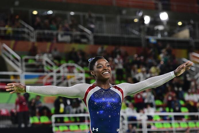 Simone Biles suma segundo oro y se consagra como una de las estrellas de...