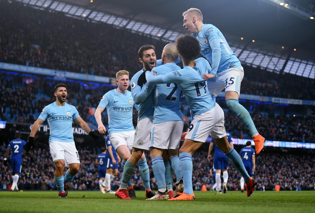 5. Manchester City (Inglaterra) - 648,8 millones de dólares