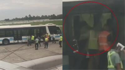 En video: denuncian golpiza a dos venezolanas en aeropuerto de Cuba