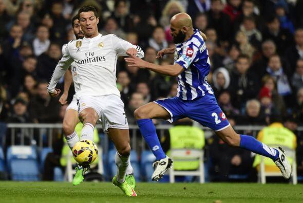 Ronaldo se quedó en ceros y sin brillar como suele hacerlo pese a mostra...
