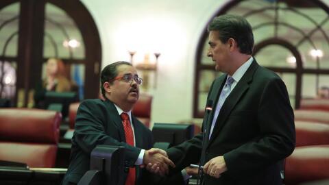 José Luis Dalmau y Eduardo Bhatia