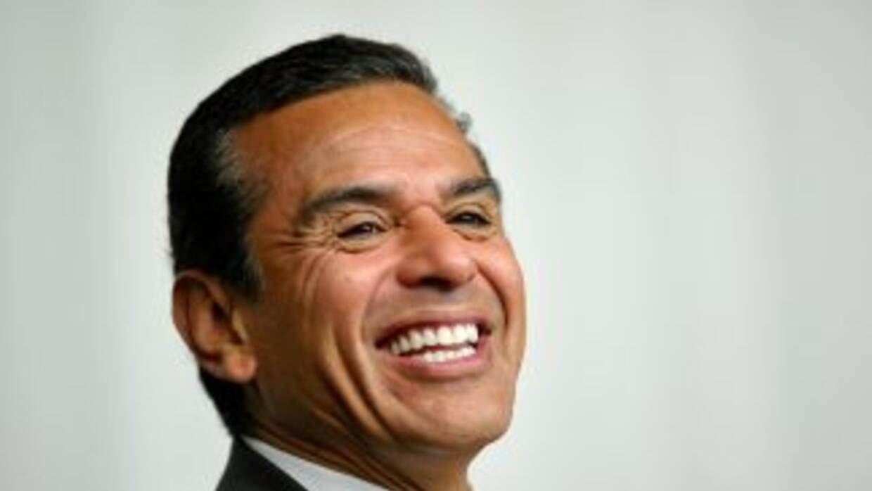 El alcalde de Los Ángeles, Antonio Villaraigosa.