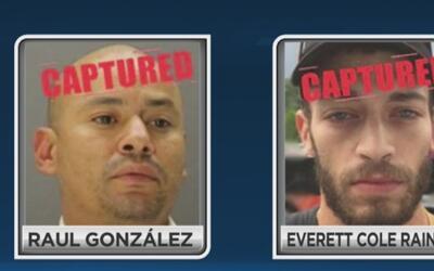 Capturados dos fugitivos que estaban incluidos en la lista de los 10 ofe...