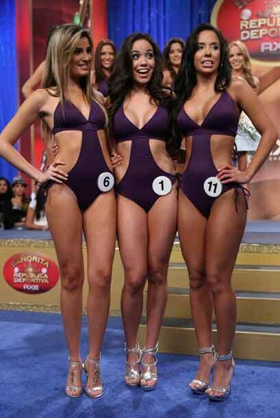 Aquí las tres chicas que se peleaban la corona del 2009: Greta Jiménez,...