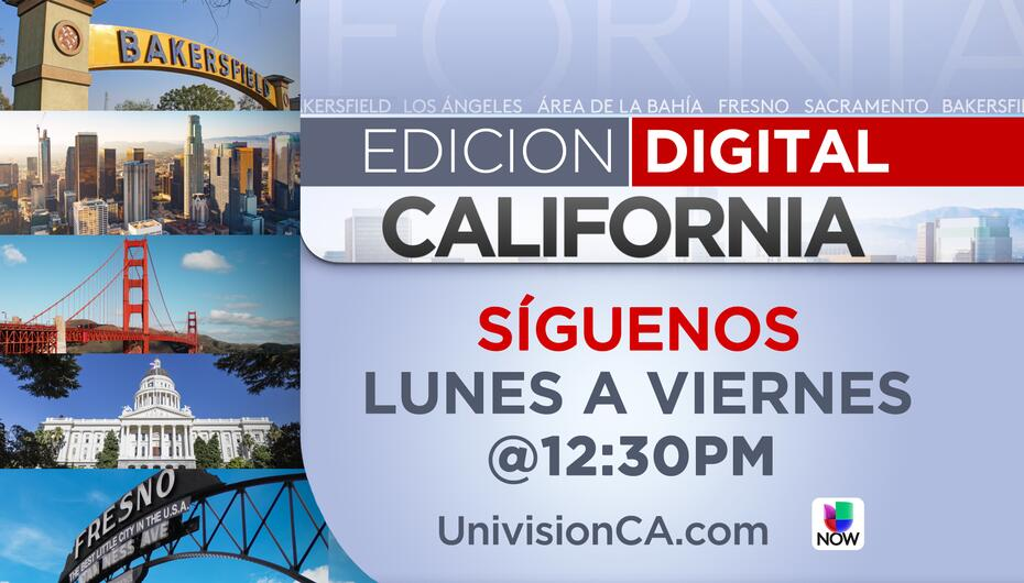 Noticias de California en Vivo a las 12:30 PM | California ED_CALIFORNIA...