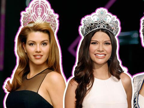 Mira todas las latinas que son reinas de belleza y han participado en Mi...