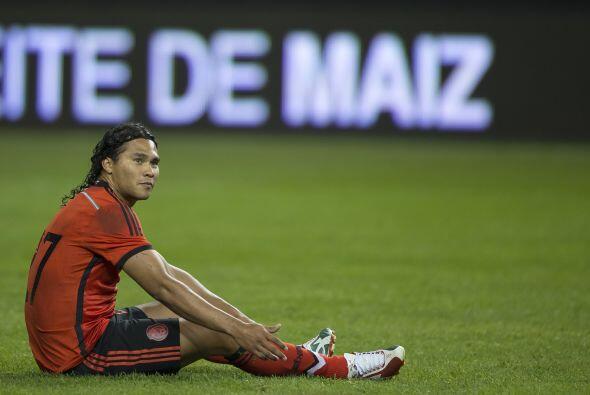 27 Carlos Peña  Fungió como revulsivo entrando al 63' en lugar de Medina...