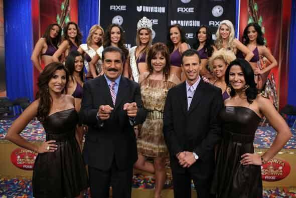 Un éxito rotundo fue la edición 2009 de Miss República Deportiva, gracia...