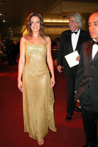 En 2003, Luz Elena Gonzalez, eligió imitar al premio Oscar y lucir como...
