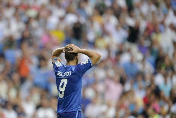 Valencia también pudo anotar un gol que hubiera sido más que valioso, pe...