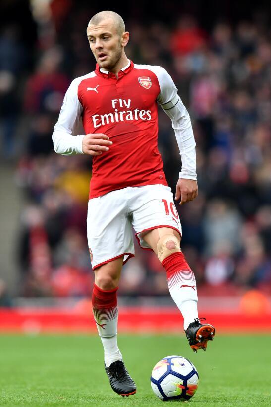 Jack Wilhsere - Arsenal (Inglaterra): 28,2 millones de dólares