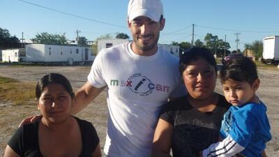 La presencia de Aarón y el equipo Mex I Can resultó un gran regalo para...
