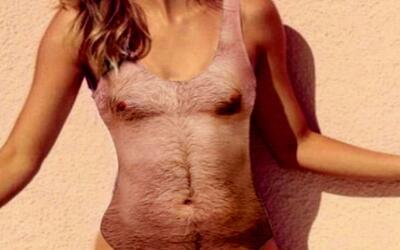 Salen a la venta trajes de baño peludos de una sola pieza para mujeres