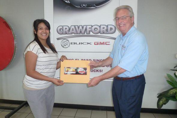 ¡Y felicidades también a Marixochitl Munoz-Pratz  ganadora de Crawford B...