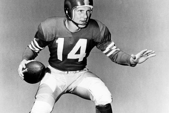 14. Y.A. Tittle - 505 yardas: New York Giants vs. Washington Redskins, 2...