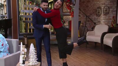 Jomari Goyso trata de entender el look de Clarissa Molina, pero termina por criticarle hasta sus botas