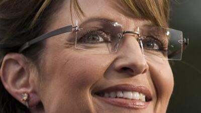La ex gobernadora de Alaska y ex candidata presidencial republicana Sara...