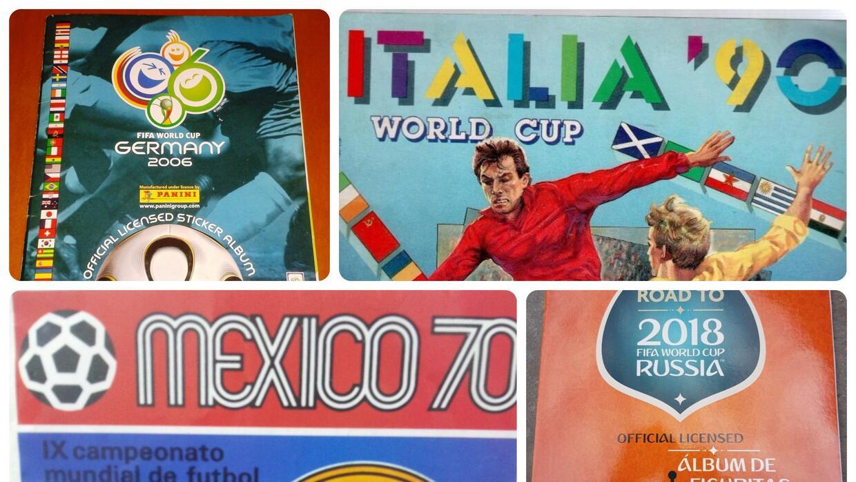 Álbumes Panini de los Mundiales