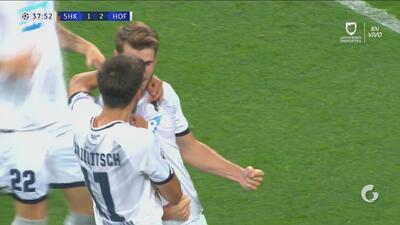 Shakhtar 1-2 Hoffenheim: revive los goles del primer tiempo
