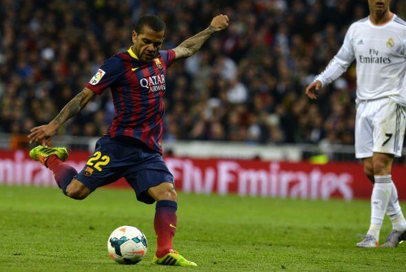 Dani Alves (5): No fue el jugador importante que en otras ocasiones ha a...