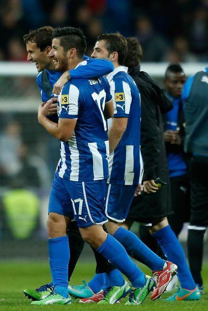 Albín logró el tanto del empate a falta de dos minutos para el final del...