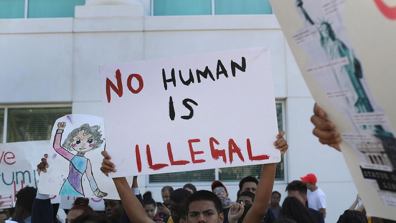 Protesta en el sur de la Florida en noviembre de 2016 para solicitar a l...