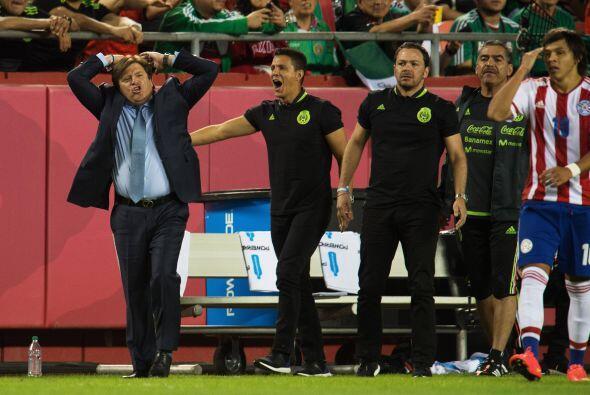 México fue dominador en el encuentro y tanto Herrera como el cuerpo técn...