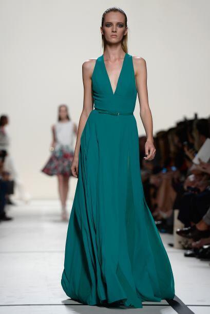 El verde -cuyo color fue el protagonista de este 2013- hizo su aparición...