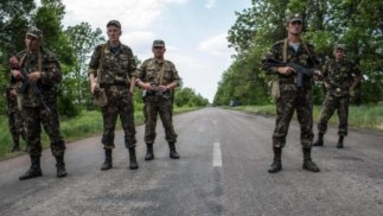 """El presidente ruso, Vladimir Putin, dijo que en Ucrania hay """"una guerra..."""