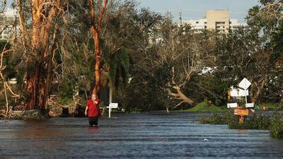 Fotos: Así quedó Florida luego del destructivo paso del huracán Irma