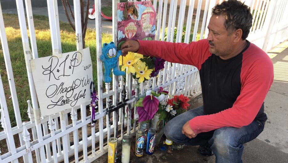 Jorge Cosgaya, vecino del Este de Los Ángeles, es el guardián de un alta...