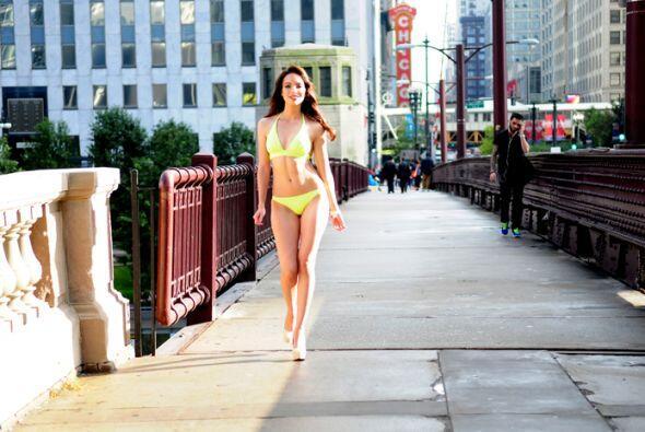 Esta mexicana de 23 años audicionó en la ciudad de Chicago...