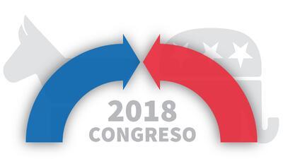Así van las encuestas para las elecciones de mitad de período que definirán el control del Congreso de EEUU en 2018